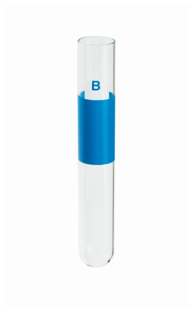 DWK Life Sciences Kimble Prelabeled Glass Blood Typing Mark-M-Tubes B testing;