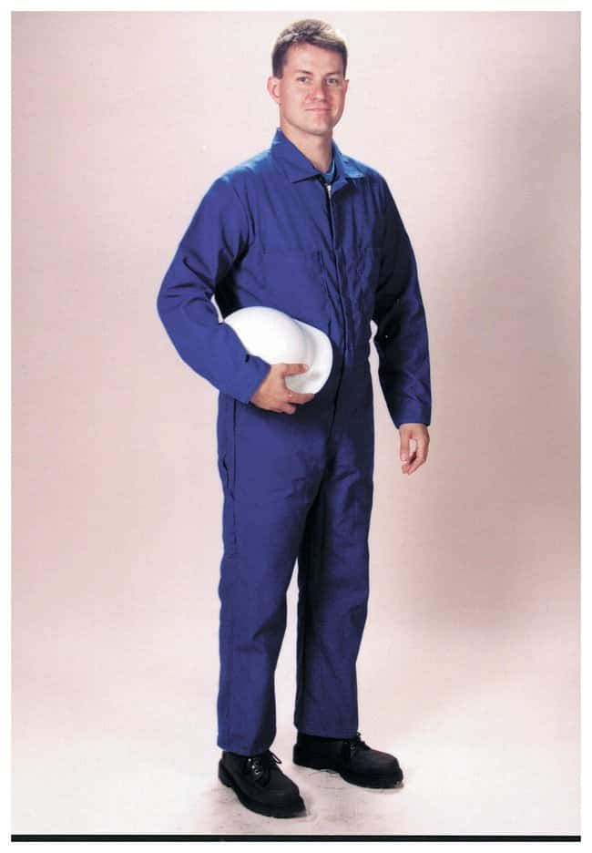 Steel Grip Royal Blue Nomex IIIA Flame-Resistant Coveralls:Gloves, Glasses