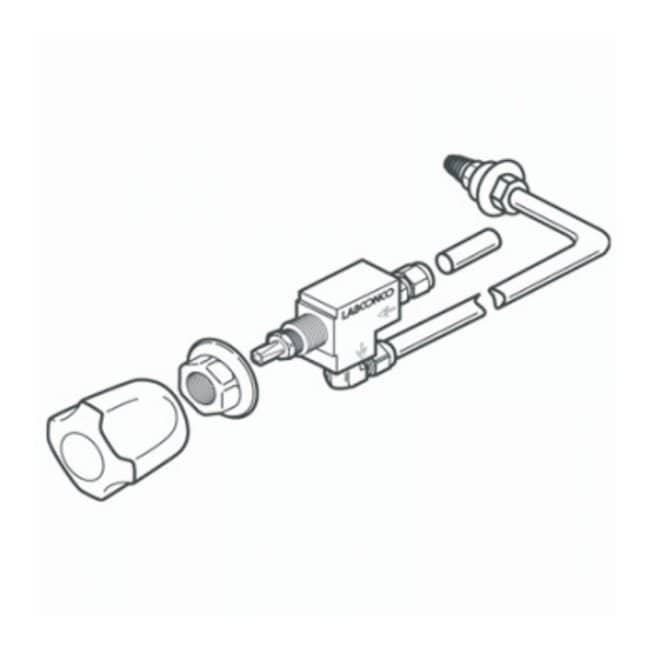 Labconco Fume Hood Standard Service Fixture Kits (Fiberglass 30 or Basic