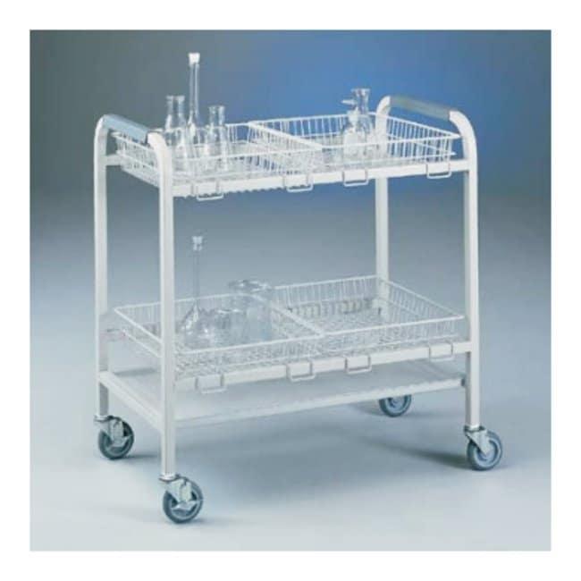Labconco Glassware Carts Accessories Small Wire Basket, 18L x 16W x 4in.H:Autoclaving,