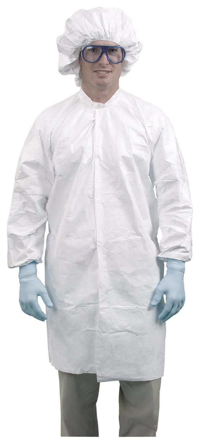 DuPont ProClean Limited-Use Cleanroom Frocks Not Specially Cleaned; Zip