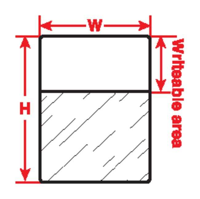 Brady™Thermal Transfer Centrifuge or Eppendorf Tube™ Labels Thrml Trnsfr Prntbl Lbl 3000pk Brady™Thermal Transfer Centrifuge or Eppendorf Tube™ Labels
