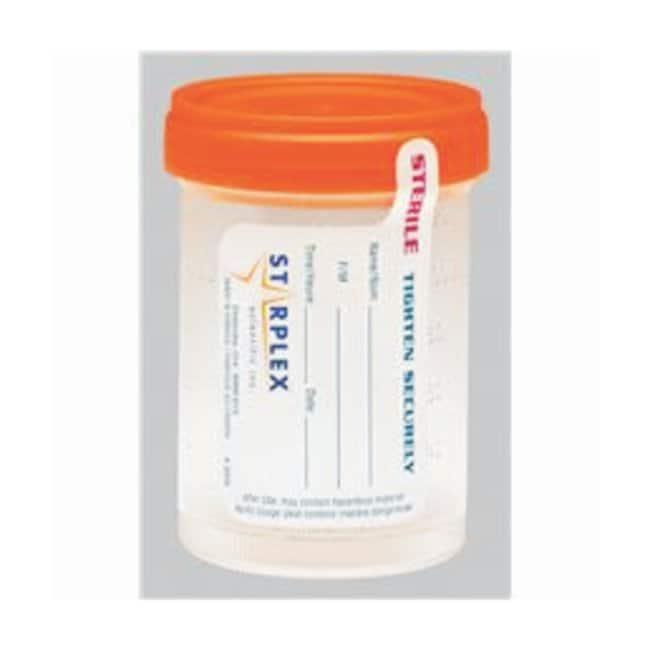 Starplex ScientificLeakBuster Specimen Containers: Sterile 90mL (3 oz.);