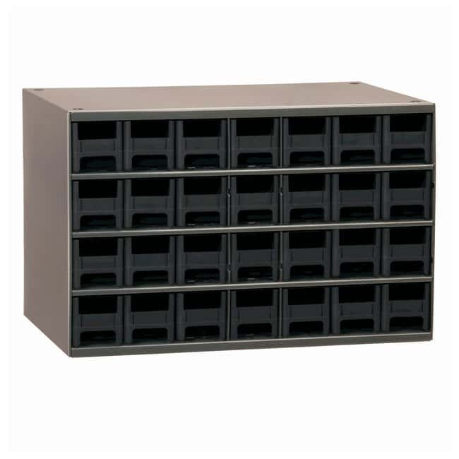 Akro-Mils 19-Series Heavy-duty Steel Storage Cabinets No of drawers: 28;