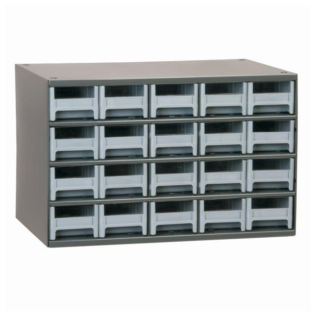 Akro-Mils 19-Series Heavy-duty Steel Storage Cabinets No of drawers: 20;