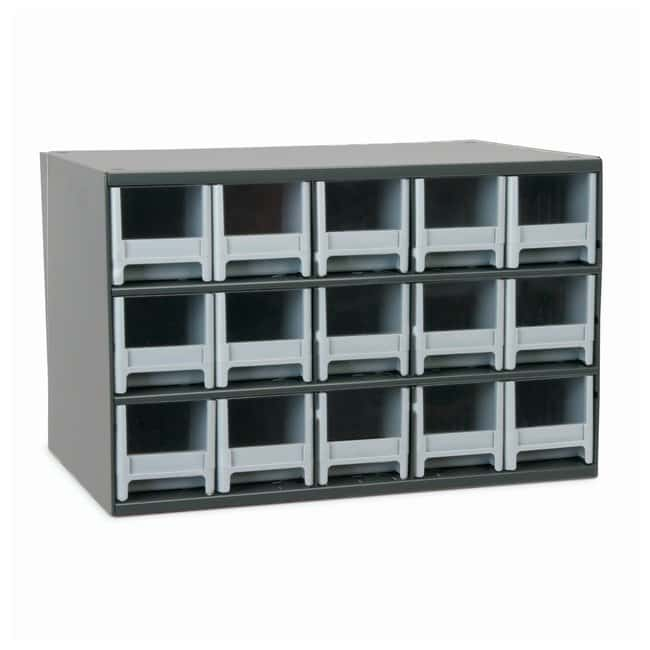 Akro-Mils 19-Series Heavy-duty Steel Storage Cabinets No of drawers: 15;