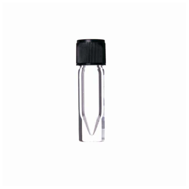 DWK Life Sciences Wheaton™ V Vial™ with Solid-Top Screw Cap, Clear