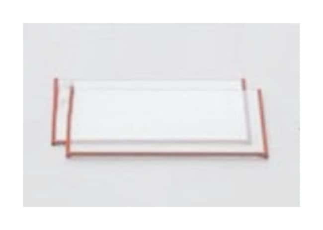 Cytiva Glass Plates for Standard Flatbed Units 125 x 260 x 0,5 mm; marco en U; paquete de 2 unidades Cytiva Glass Plates for Standard Flatbed Units