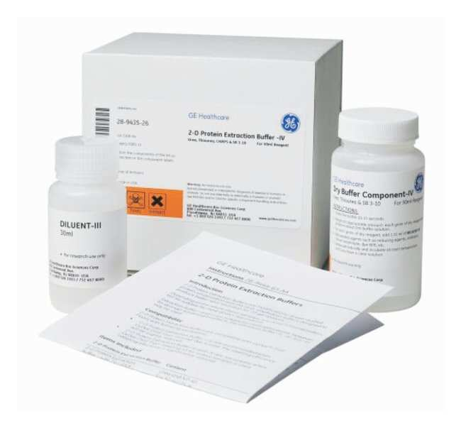 GE Healthcare 2-D Protein Extraction Buffers Buffer IV; Contains urea,