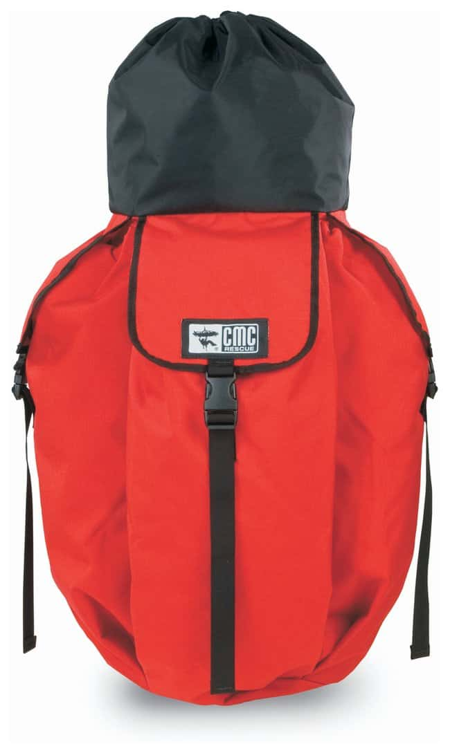 CMC Rescue Rope and Equipment Bags Size: X-large; Color: Red; Vol.: 61L:Gloves,