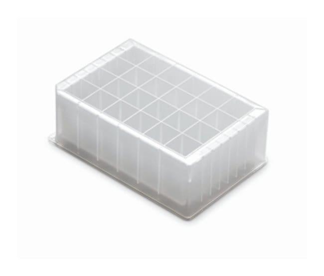 Axygen™Microplacas de almacenamiento 24 rectangular deep-well; Presterilized; Clear; 10mL Axygen™Microplacas de almacenamiento