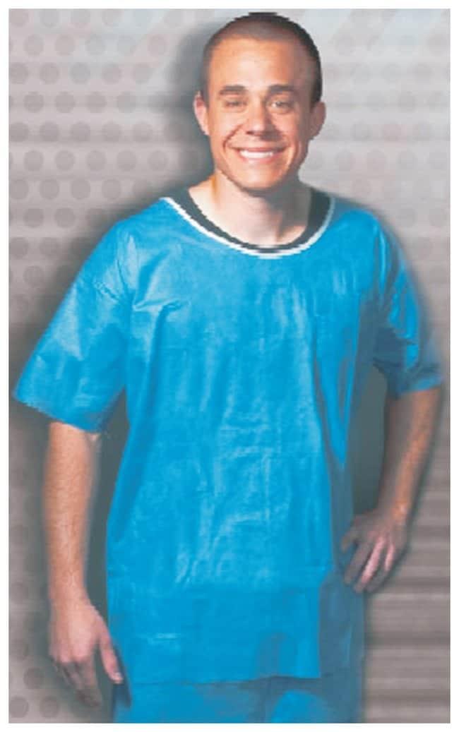 International Enviroguard Soft Scrubs Disposable Short Sleeve Shirts 3X-Large:Gloves,