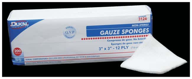 DukalNonsterile Gauze Sponges:First Aid and Medical:Patient Care Products