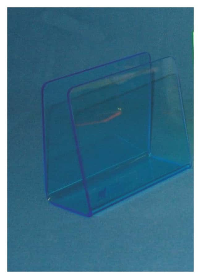 Mitchell Plastics Single Blood Bag Holders Neon blue; Pack of 6:Racks,