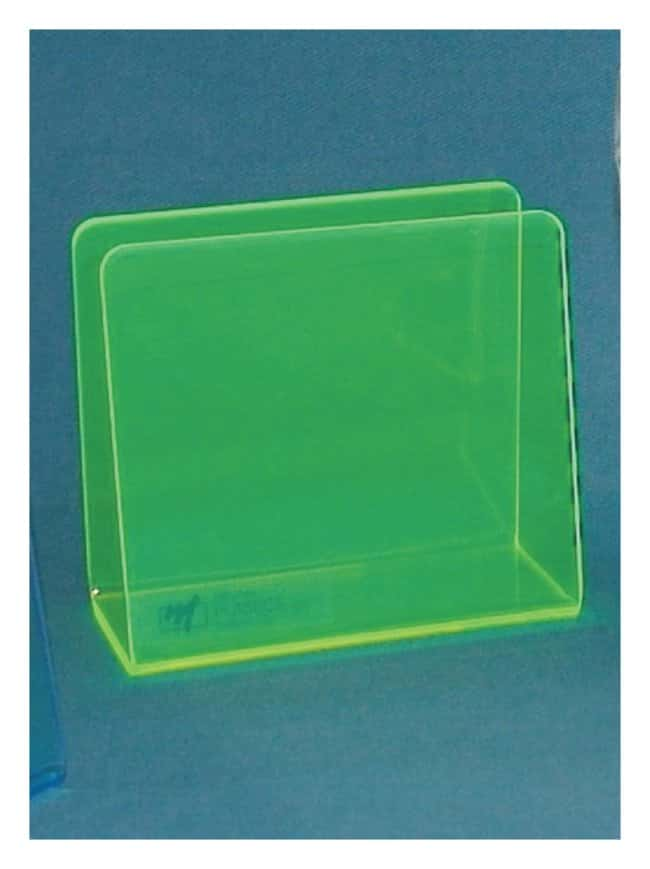 Mitchell Plastics Single Blood Bag Holders Neon green; Pack of 1:Racks,