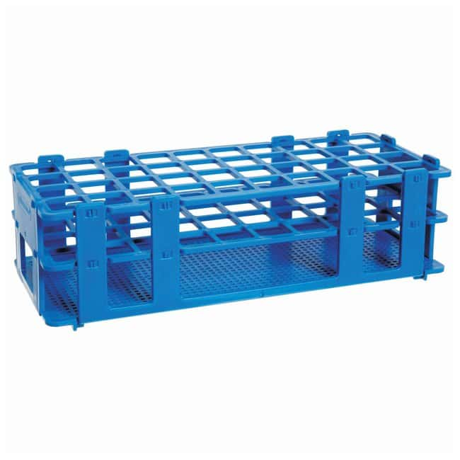 Bel-Art™ SP Scienceware™ No-Wire™ Autoclavable Test Tube Racks Blue ...