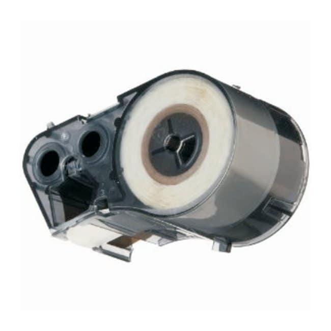 Brady™Label Maker Cartridge: Polyester, StainerBondz™ StainerBondz polyester; Size: 0.900W x 0.750 in.H (22.860W x 19.050mm H) Brady™Label Maker Cartridge: Polyester, StainerBondz™