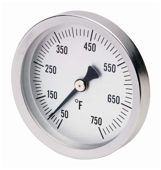 H-B Instrument Durac Bi-Metallic Surface Temperature Thermometers: Stainless