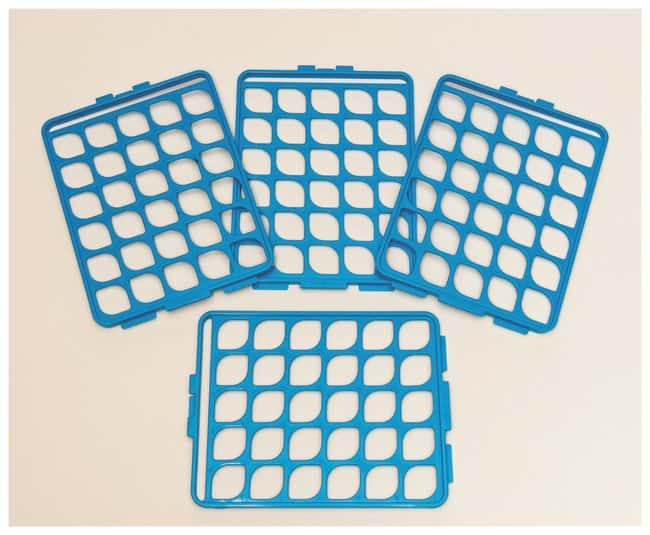 Bel-Art™ Switch-Grid™ Test Tube Rack Grids Grid Set; Blue; 13-16mm tubes Bel-Art™ Switch-Grid™ Test Tube Rack Grids