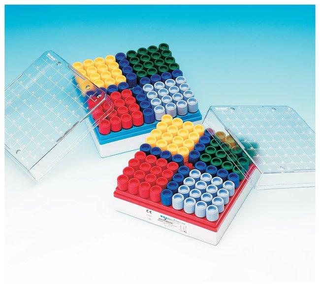 Pro-Lab Diagnostics Microbank Freezer Storage Boxes Red