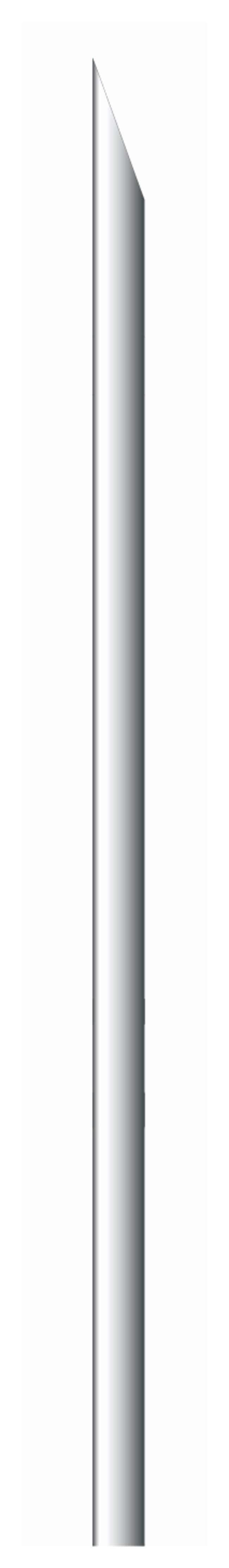 Trajan™Replacement Needles for Luer-Lock Syringes Bevel type tip; Length: 50mm; Gauge: 18; O.D.: 1.27mm; I.D.: 0.8mm Trajan™Replacement Needles for Luer-Lock Syringes
