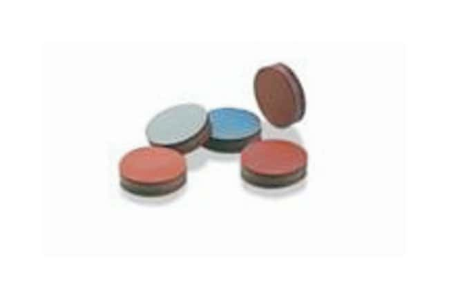SGE™ GC Septa: TCS TCS material; Made of predrilled TCS septa; Dia.: 0.35 in. (9mm); 50/Pk. SGE™ GC Septa: TCS