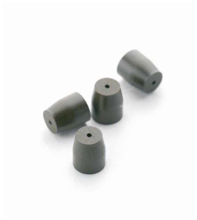 SGE™15% Graphite/85% Vespel™ Straight Ferrules Straight ferrule; Column I.D.: 1/8 in.; L x W: 7.4 x 6.4mm SGE™15% Graphite/85% Vespel™ Straight Ferrules