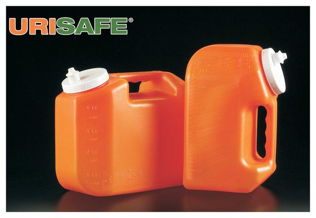 Simport™ ScientificURISAFE ™ Behälter zur Urinentnahme URISAFE™ 24-Stunden-Urinflasche, 4l Simport™ ScientificURISAFE ™ Behälter zur Urinentnahme