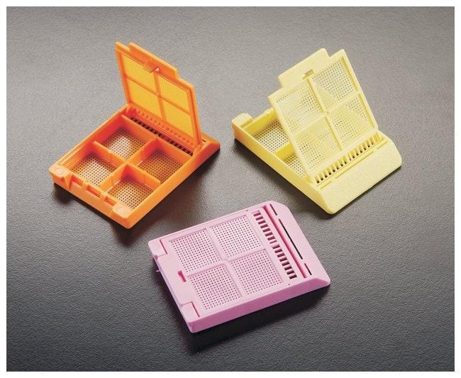 Simport™ ScientificMICROMESH™ Biopsie-Verarbeitungs-/Einbettkassetten mit vier quadratischen Fächern Rosa Simport™ ScientificMICROMESH™ Biopsie-Verarbeitungs-/Einbettkassetten mit vier quadratischen Fächern