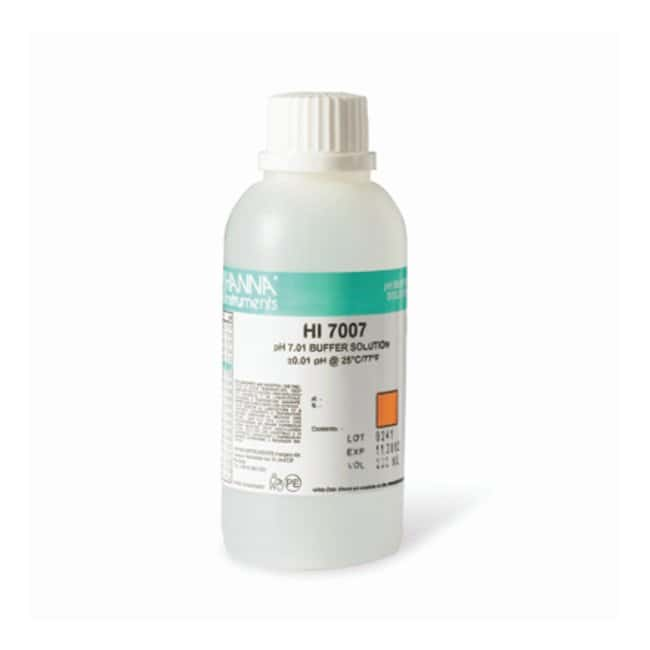 Hanna™ Instruments pH Buffer Solutions pH 7.01; 230mL Electrochemistry Standards and Solutions