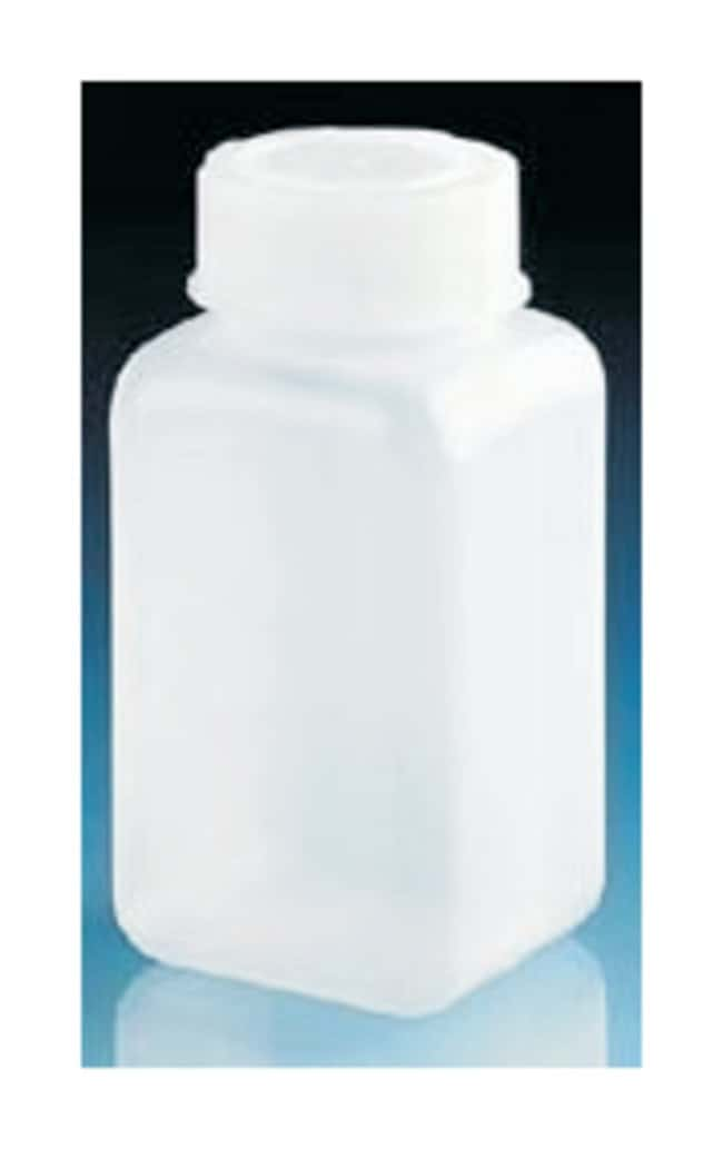 BrandTech  Wide Mouth Square Bottles