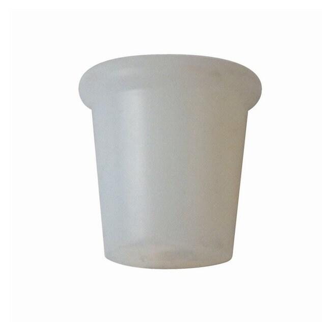 DWK Life SciencesEnsembles de filtration Kontes™: bouchons en silicone; autoclavables à la vapeur Silicone stopper No. 5; Steam autoclavable; 3/8 in. hole DWK Life SciencesEnsembles de filtration Kontes™: bouchons en silicone; autoclavables à la vapeur