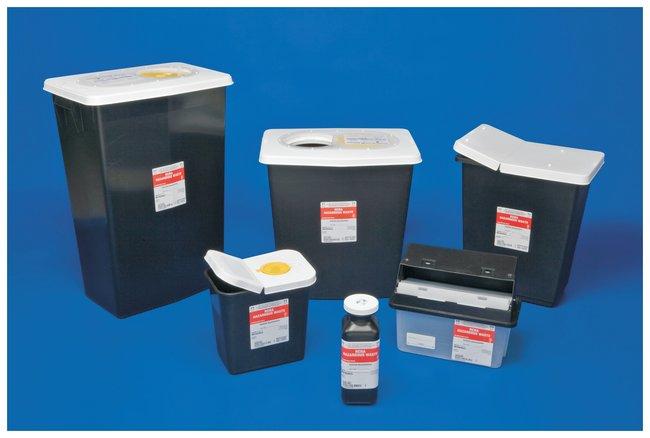 Covidien RCRA Hazardous Waste Containers Sliding lid; Capacity: 8 gallons;