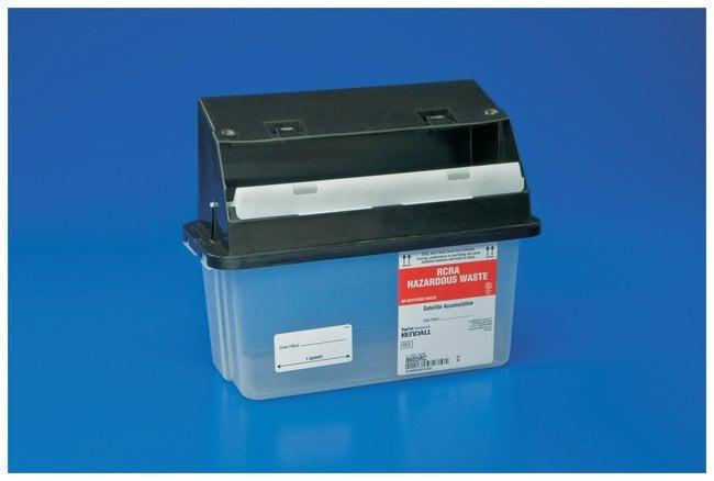 Covidien RCRA Hazardous Waste Containers:Gloves, Glasses and Safety:Hazardous