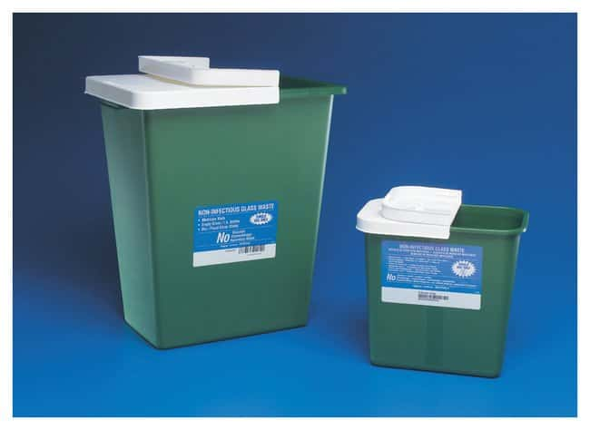 CovidienEnviroStar Noninfectious Waste Sharps Disposal Containers 18 gallon:First