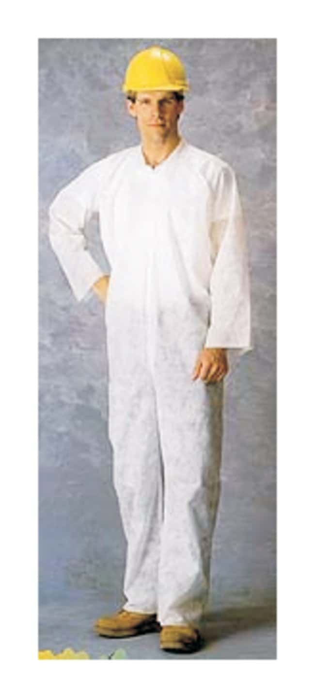 Lakeland Industries ZoneGard Polypropylene Coveralls with Zipper and Collar:Gloves,