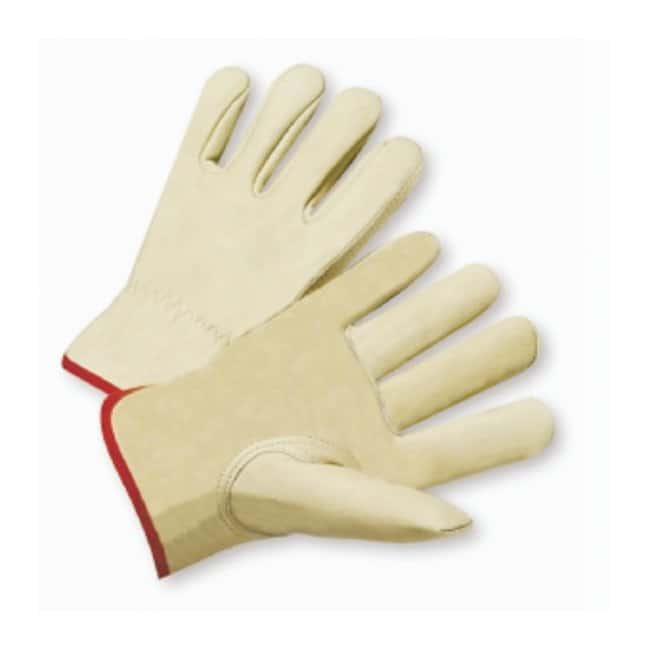 West Chester Select Grain Cowhide Leather Work Gloves Keystone thumb construction;