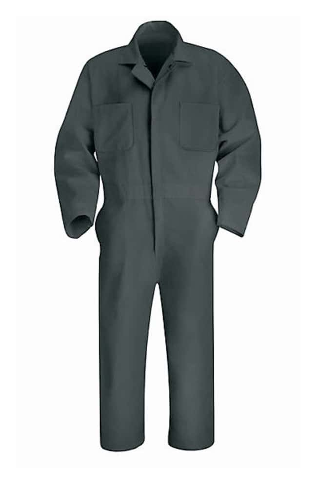VF Workwear Red Kap Twill Action Back Coveralls Charcoal; Regular; Size: