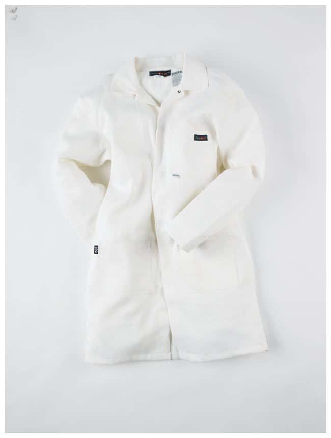Neese Indura 9 oz. FR Lab Coats White; 2X-Large:Gloves, Glasses and Safety