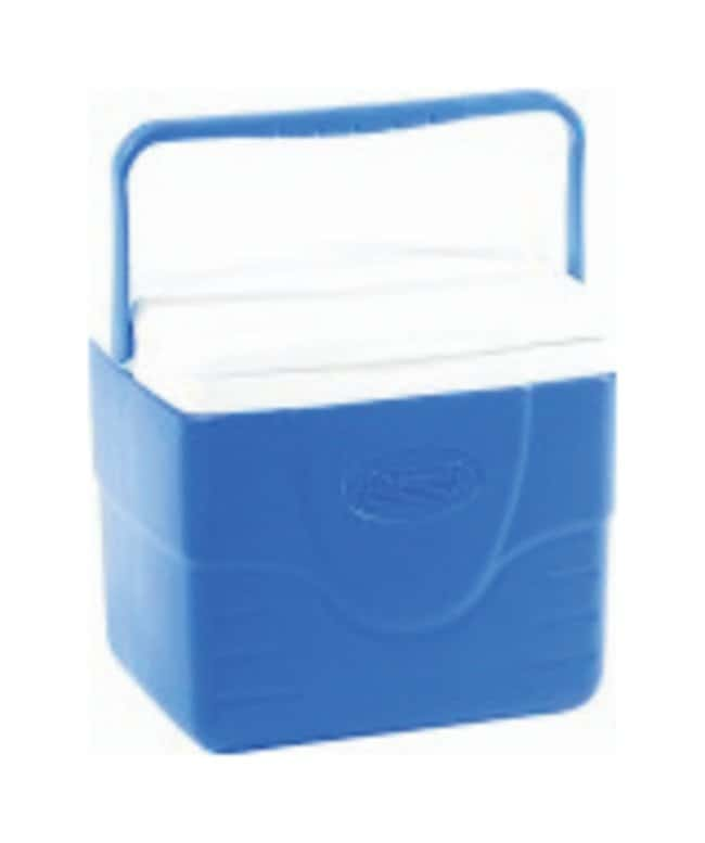 Therapak Coleman Excursion Handle Coolers Capacity: 9 qt. (8.51L); Blue:Cold
