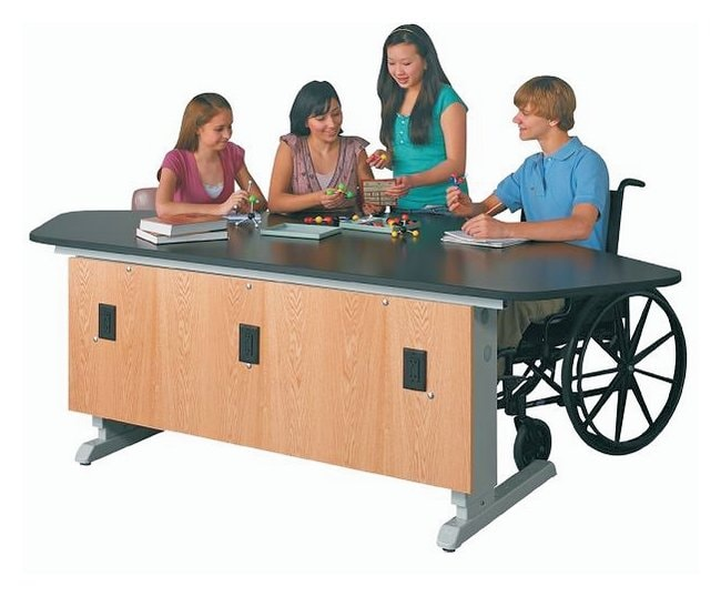 Diversified Woodcrafts Power-Lift Lab Workstations  :Teaching Supplies:Classroom