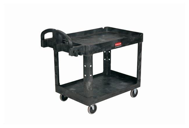 Rubbermaid Heavy-Duty Utility Cart Size: 45.25L x 25.875W x 33.25 In.H;