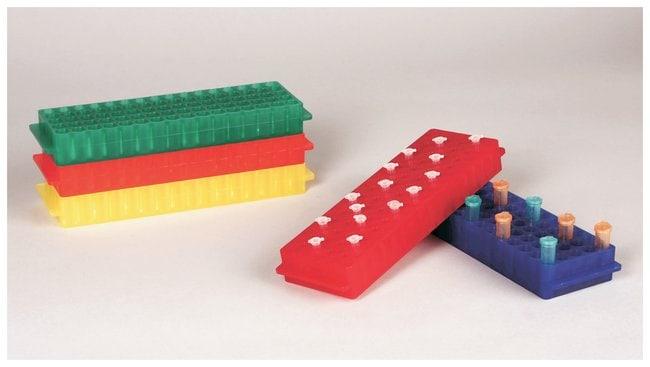 FisherbrandPolypropylene Microtube Storage Racks Color: Assorted (nonfluorescent):Racks