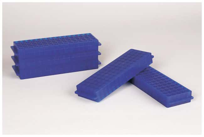 Fisherbrand Polypropylene Microtube Storage Racks Color: Blue:Racks, Boxes,