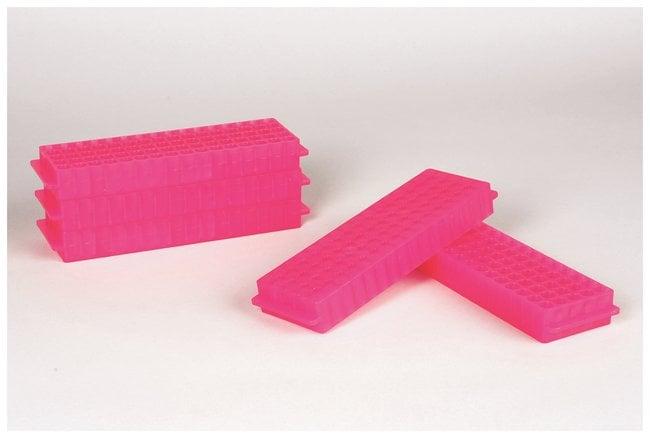 FisherbrandPolypropylene Microtube Storage Racks Color: Fluorescent Pink:Racks