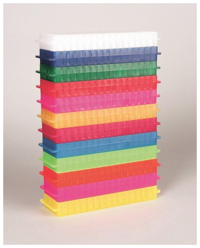 Fisherbrand Polypropylene Microtube Storage Racks:Racks, Boxes, Labeling