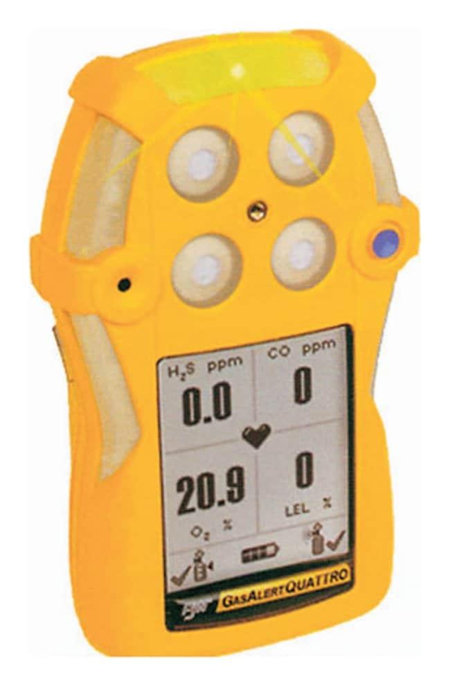 Honeywell Analytics GasAlertQuattro Rechargable Multigas Detectors Rechargable