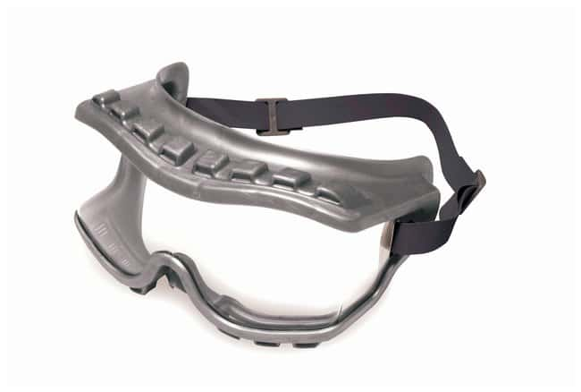 Honeywell Uvex Strategy Safety Goggles Gray frame; Indirect vent:Gloves,