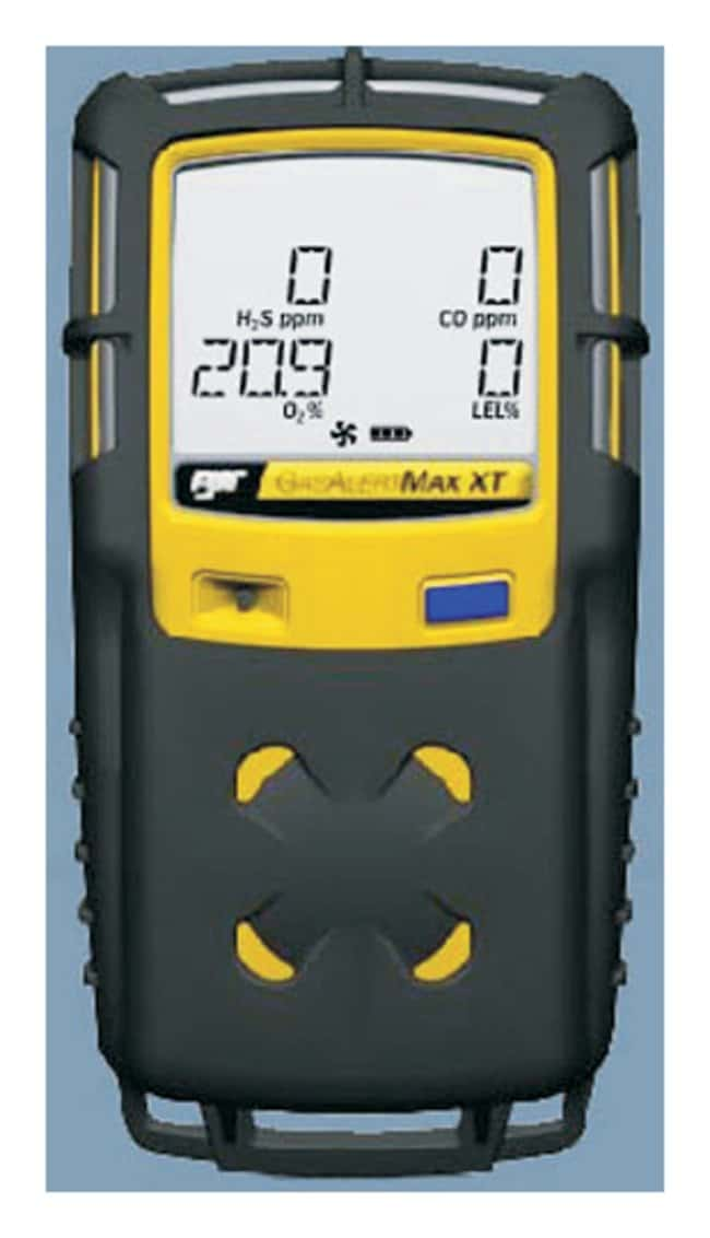 Honeywell Analytics GasAlertMax XT II Single-Gas Detectors For CO; Black