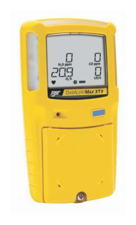 Honeywell Analytics GasAlertMax XT II Multigas Detectors For O2, H2S; Yellow